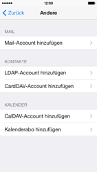 Apple iPhone 5c - E-Mail - Konto einrichten - 2 / 2