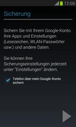 Samsung Galaxy S III Mini - Apps - Einrichten des App Stores - Schritt 13