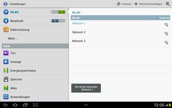 Samsung Galaxy Tab 2 10.1 - WiFi - WiFi-Konfiguration - Schritt 7