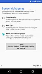 Sony Xperia X - E-Mail - Konto einrichten - 0 / 0
