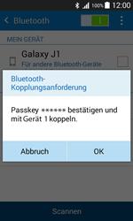 Samsung Galaxy J1 - Bluetooth - Geräte koppeln - 9 / 11