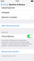Apple iPhone 5 iOS 7 - Apps - Konfigurieren des Apple iCloud-Dienstes - Schritt 12