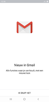 Samsung Galaxy J6 Plus - E-mail - e-mail instellen (gmail) - Stap 5