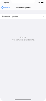 Apple iPhone XS Max - iOS 14 - Software - Installing software updates - Step 6