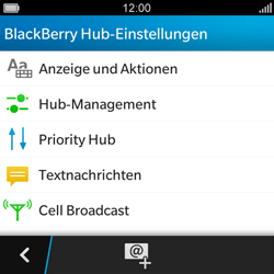 BlackBerry Q5 - MMS - Manuelle Konfiguration - Schritt 5