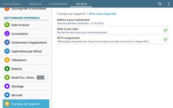 Samsung T535 Galaxy Tab 4 10.1 - Logiciels - Installation de mises à jour - Étape 8