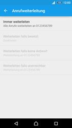 Sony Xperia Z3+ - Anrufe - Rufumleitungen setzen und löschen - 8 / 9