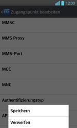 LG Optimus L7 II - MMS - Manuelle Konfiguration - 1 / 1