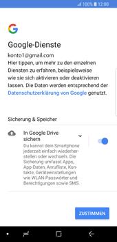 Samsung Galaxy S9 - E-Mail - Konto einrichten (gmail) - Schritt 12