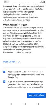 Samsung Galaxy A40 - apps - account instellen - stap 16