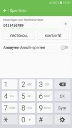 Samsung Galaxy S6 Edge - Anrufe - Anrufe blockieren - 10 / 12