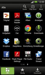 HTC Desire X - Ausland - Im Ausland surfen – Datenroaming - 1 / 1