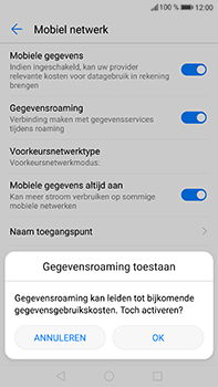 Huawei P10 Plus - Internet - handmatig instellen - Stap 7