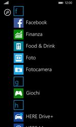 Nokia Lumia 635 - Operazioni iniziali - Personalizzazione della schermata iniziale - Fase 3
