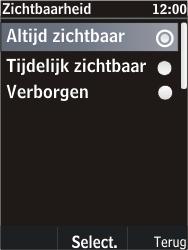 Nokia C2-05 - bluetooth - aanzetten - stap 10