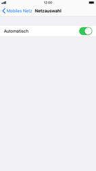 Apple iPhone 6s - iOS 13 - Netzwerk - Manuelle Netzwerkwahl - Schritt 5