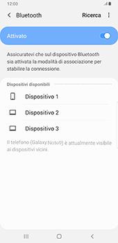 Samsung Galaxy Note9 - Android Pie - Bluetooth - Collegamento dei dispositivi - Fase 7