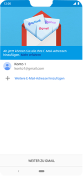 Nokia 6.1 Plus - Android Pie - E-Mail - Konto einrichten (gmail) - Schritt 12