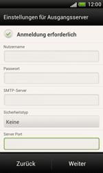 HTC Desire X - E-Mail - Manuelle Konfiguration - Schritt 15