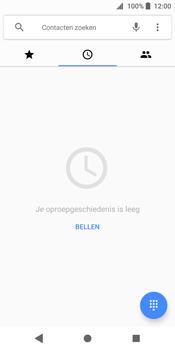 Sony Xperia XZ2 - Voicemail - Handmatig instellen - Stap 4