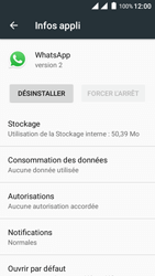 Wiko Freddy - Applications - Supprimer une application - Étape 6