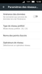 Doro 8031 - Internet et connexion - Activer la 4G - Étape 7