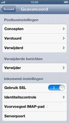 Apple iPhone 5 - E-mail - Handmatig instellen - Stap 19