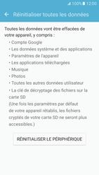 Samsung Galaxy S7 - Téléphone mobile - Réinitialisation de la configuration d