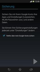 Sony Xperia Z - Apps - Konto anlegen und einrichten - 15 / 17