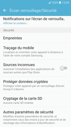 Samsung Galaxy S7 - Sécuriser votre mobile - Personnaliser le code PIN de votre carte SIM - Étape 5