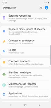 Samsung Galaxy Note10 - Appareil - Configurer Localiser mon appareil - Étape 4
