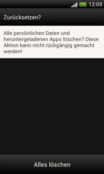 HTC Desire X - Fehlerbehebung - Handy zurücksetzen - 2 / 2