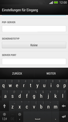 HTC One - E-Mail - Manuelle Konfiguration - Schritt 10