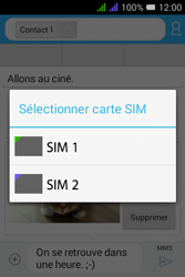 Alcatel Pixi 3 Dual Sim - Contact, Appels, SMS/MMS - Envoyer un MMS - Étape 20