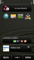 Nokia E7-00 - Voicemail - Handmatig instellen - Stap 1