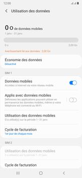 Samsung Galaxy Note20 Ultra 5G - Internet et connexion - Désactiver la connexion Internet - Étape 6