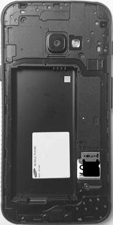 Samsung Galaxy Xcover 4 - SIM-Karte - Einlegen - 5 / 8