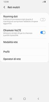 Samsung Galaxy S9 - Android Pie - Rete - Selezione manuale della rete - Fase 6