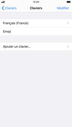 Apple iPhone SE (2020) - Prise en main - Comment ajouter une langue de clavier - Étape 6