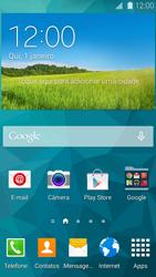 Samsung G900F Galaxy S5 - Primeiros passos - Baixar o manual - Etapa 1