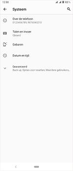 Sony Xperia 1 - Beveiliging en privacy - maak een backup met je account - Stap 5