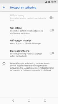 Nokia 8-sirocco-ta-1005 - WiFi - Mobiele hotspot instellen - Stap 9