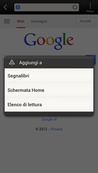 HTC One S - Internet e roaming dati - Uso di Internet - Fase 7