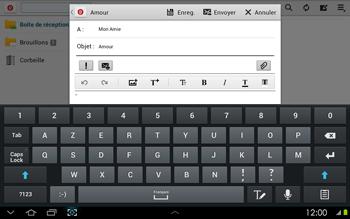 Samsung P5100 Galaxy Tab 2 10-1 - E-mail - envoyer un e-mail - Étape 8