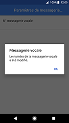 Sony Xperia XA2 - Messagerie vocale - configuration manuelle - Étape 12