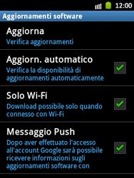 Samsung Galaxy Pocket - Software - Installazione degli aggiornamenti software - Fase 7