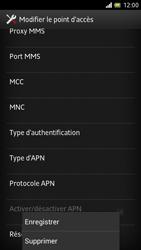 Sony LT28h Xperia ion - MMS - Configuration manuelle - Étape 14