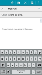 Samsung A300FU Galaxy A3 - E-mail - Envoi d