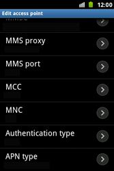Samsung S7500 Galaxy Ace Plus - Internet - Manual configuration - Step 14