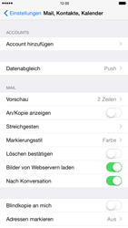 Apple iPhone 6 iOS 8 - E-Mail - Konto einrichten (outlook) - Schritt 4
